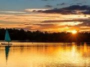 Sandhurst Horseshoe lake