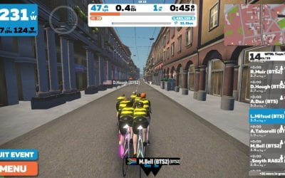 WTRL Team Time Trial Update for January 2021